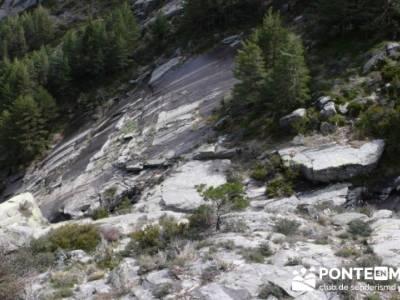 Nacimiento del Río Manzanares (Descenso del Río Manzanares); senderismo en ingles
